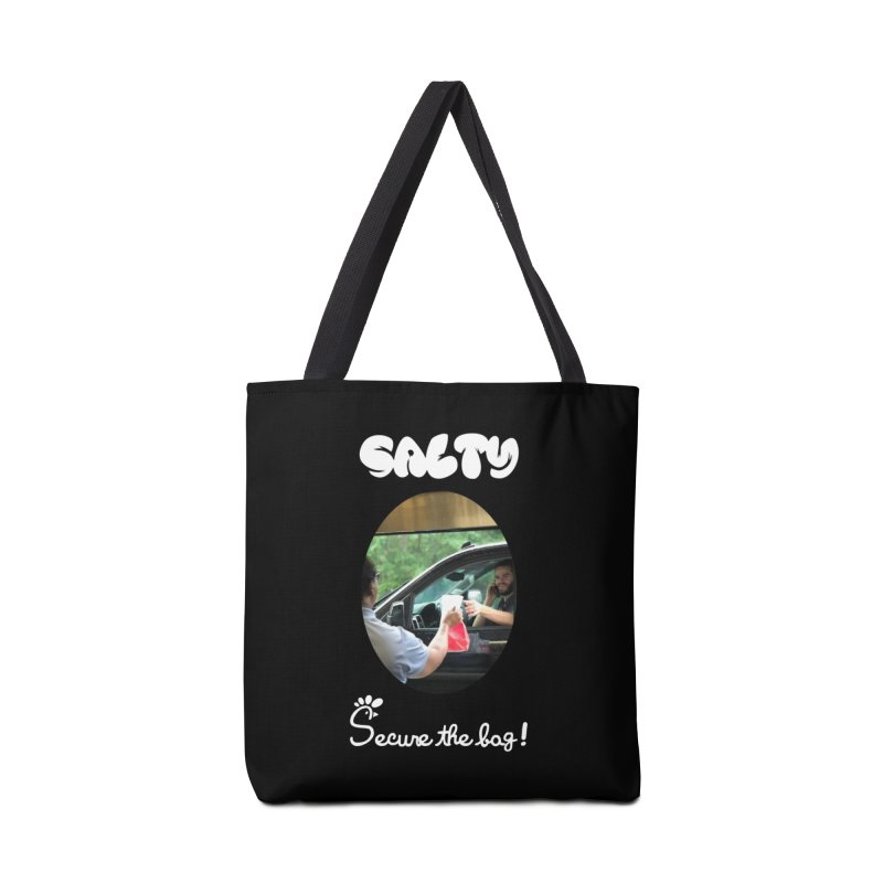 Salty Dubstep - Secure the Bag! Accessories Bag by BassMerch.co