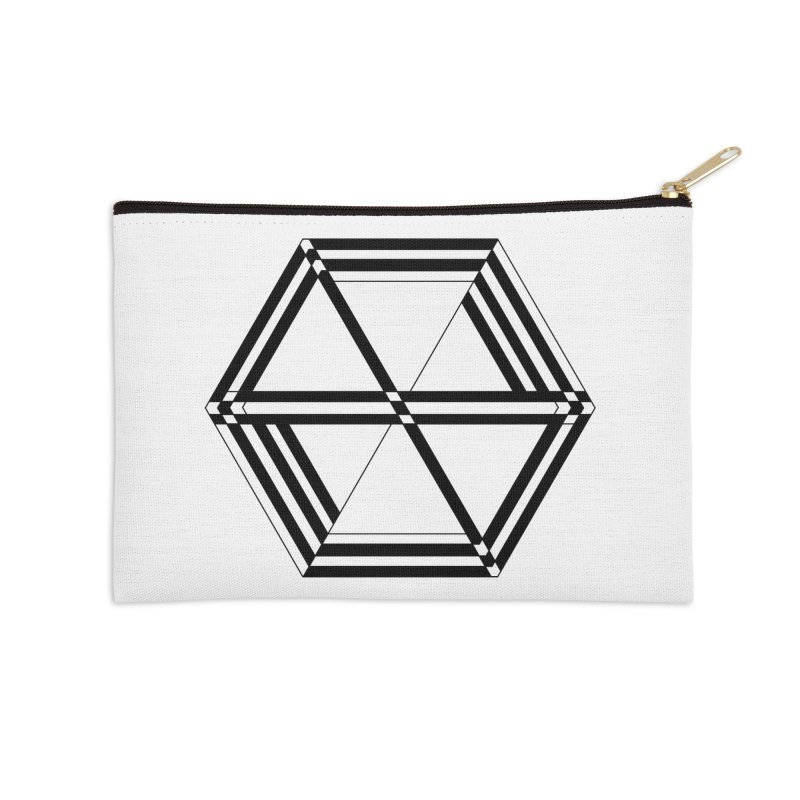 awesame Icon (b) Accessories Zip Pouch by BassMerch.co