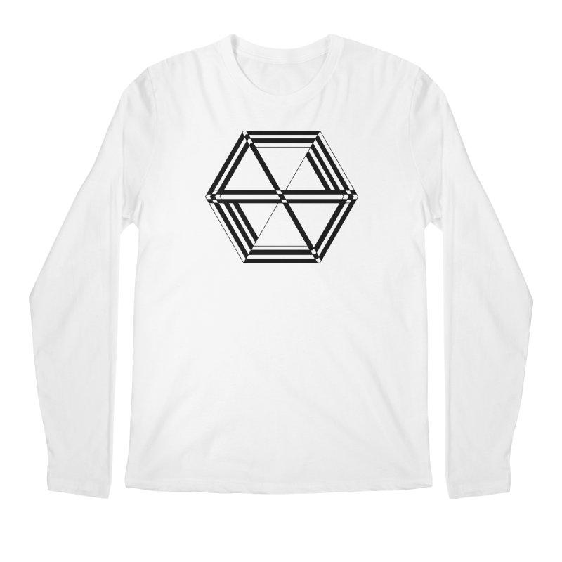 awesame Icon (b) Men's Longsleeve T-Shirt by BassMerch.co