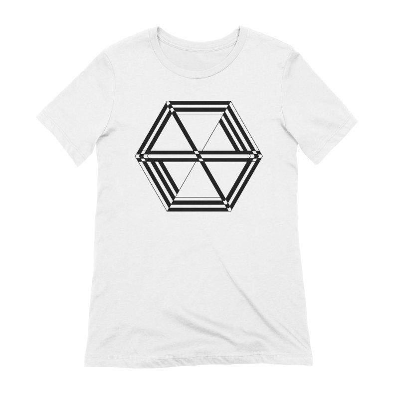 awesame Icon (b) Women's T-Shirt by BassMerch.co