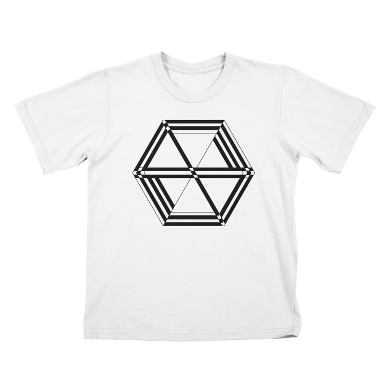 awesame Icon (b) Kids T-Shirt by BassMerch.co