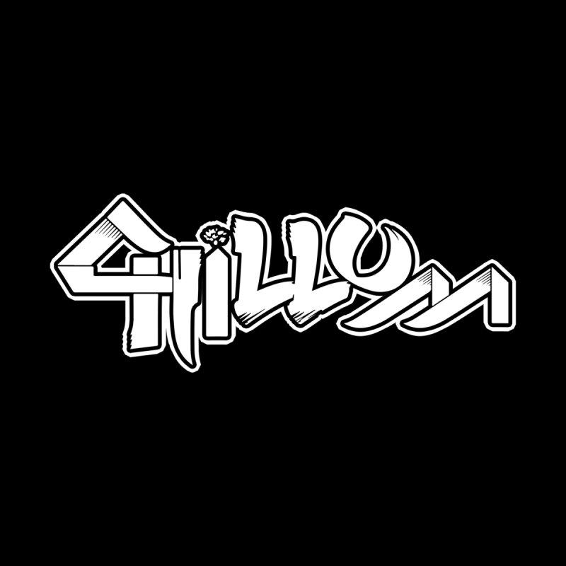 Chillum Logo (w) Men's T-Shirt by BassMerch.co