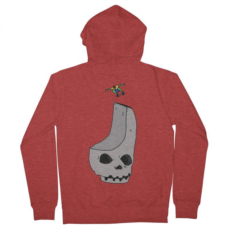 Skate or die Men's Zip-Up Hoody by uvnvu's Artist Shop
