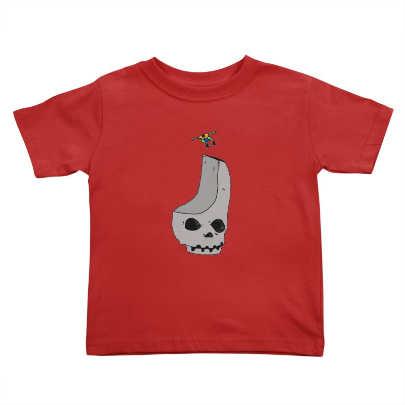 Skate or die Kids Toddler T-Shirt by uvnvu's Artist Shop