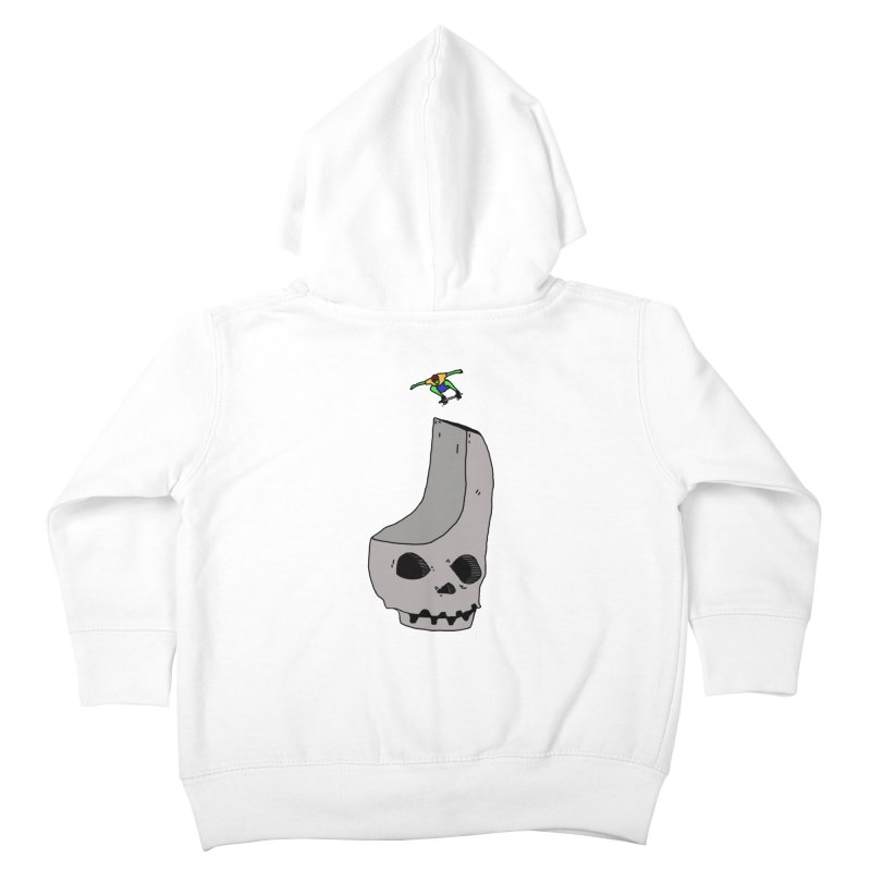Skate or die Kids Toddler Zip-Up Hoody by uvnvu's Artist Shop
