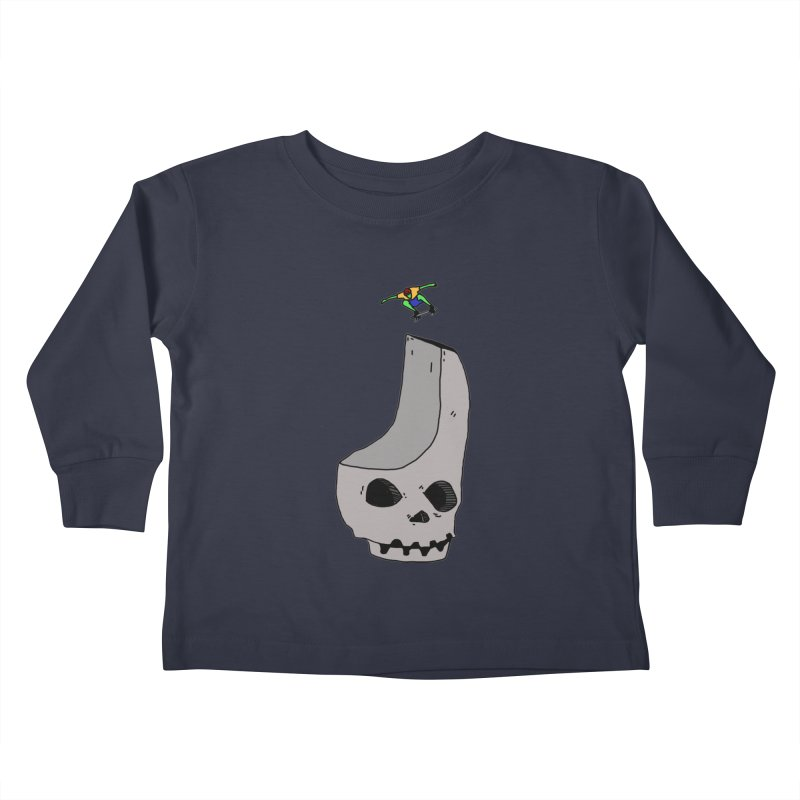 Skate or die Kids Toddler Longsleeve T-Shirt by uvnvu's Artist Shop