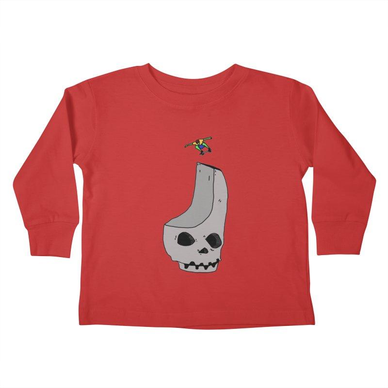 Skate or die Kids Toddler Longsleeve T-Shirt by uvnvu's Artist Shop