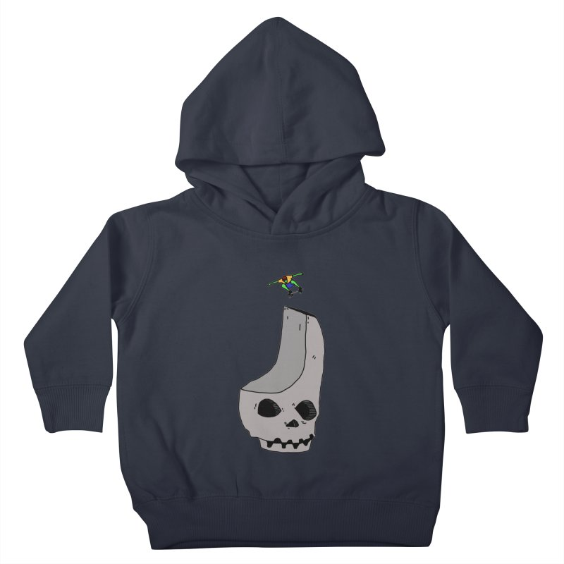 Skate or die Kids Toddler Pullover Hoody by uvnvu's Artist Shop