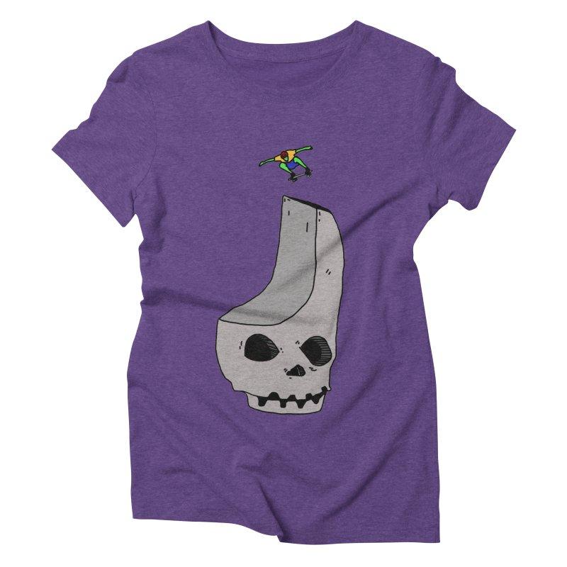 Skate or die Women's Triblend T-Shirt by uvnvu's Artist Shop