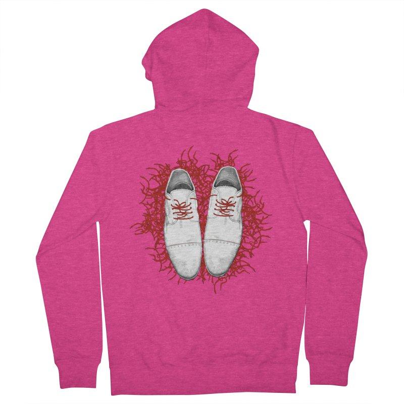 Crazy Laces Women's Zip-Up Hoody by uzu's Artist Shop