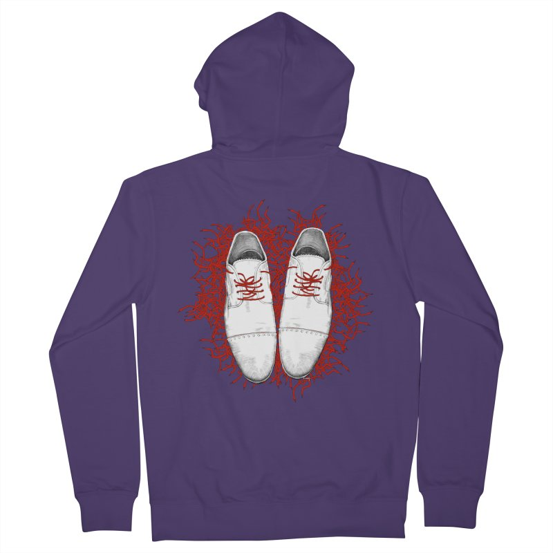 Crazy Laces Women's Zip-Up Hoody by uzu's Artist Shop