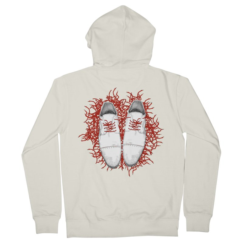 Crazy Laces Women's French Terry Zip-Up Hoody by uzu's Artist Shop