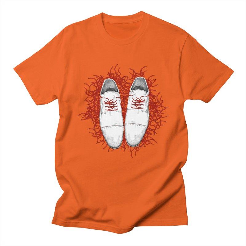 Crazy Laces Men's T-Shirt by uzu's Artist Shop