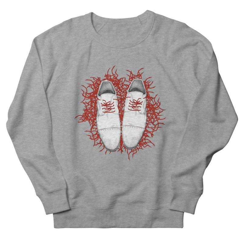 Crazy Laces Men's French Terry Sweatshirt by uzu's Artist Shop