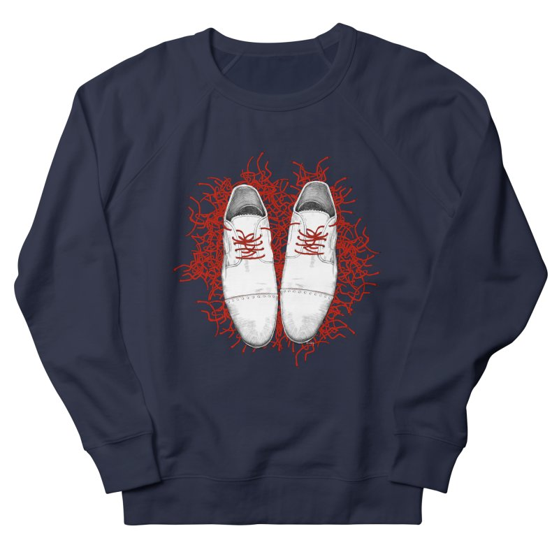 Crazy Laces Men's French Terry Sweatshirt by uzu's Artist Shop