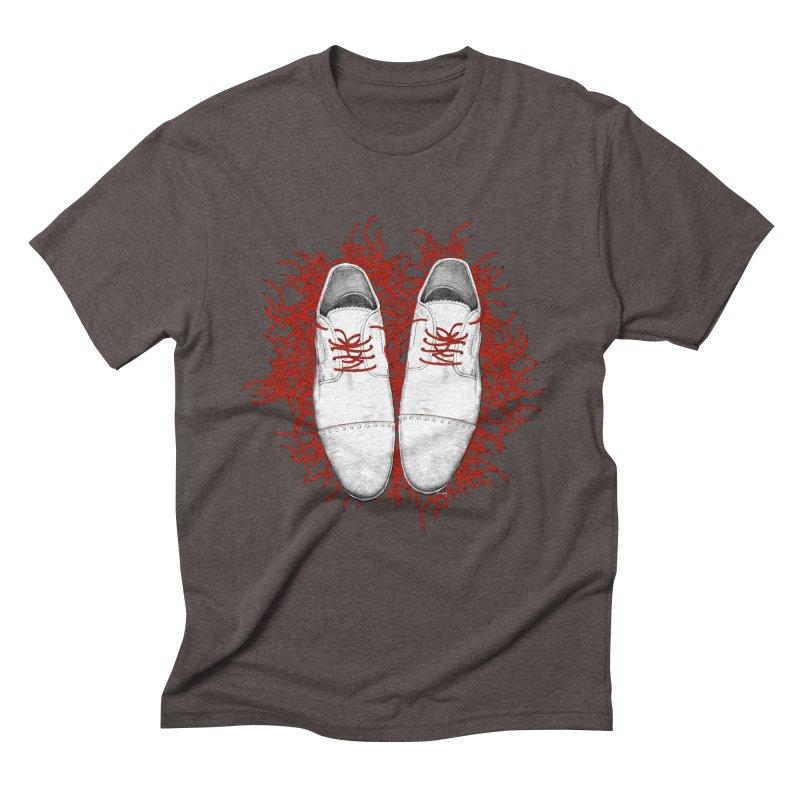 Crazy Laces Men's Triblend T-shirt by uzu's Artist Shop