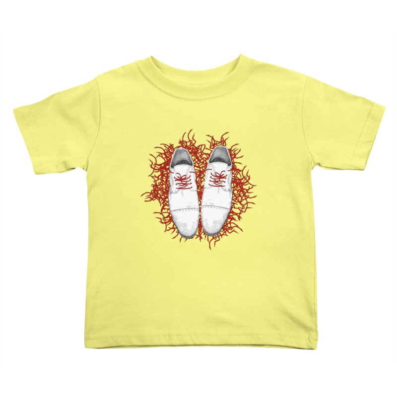 Crazy Laces Kids Toddler T-Shirt by uzu's Artist Shop