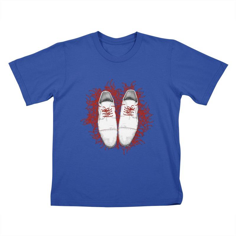 Crazy Laces Kids T-shirt by uzu's Artist Shop