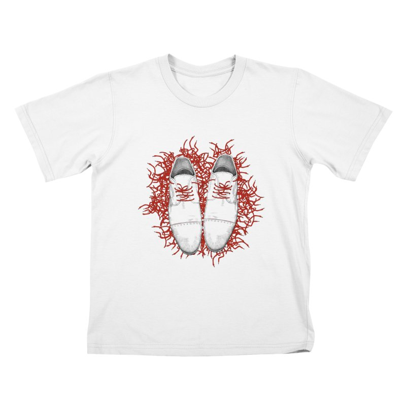 Crazy Laces Kids T-Shirt by uzu's Artist Shop