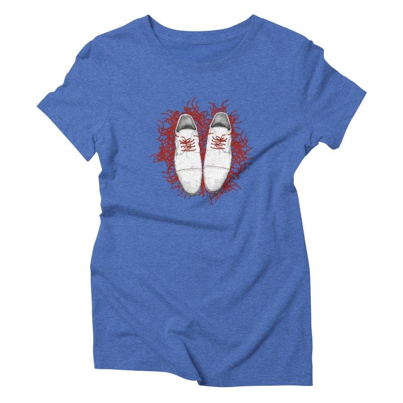 Crazy Laces Women's T-Shirt by uzu's Artist Shop