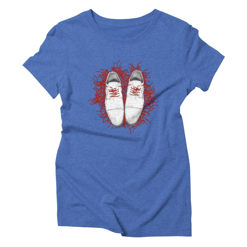 Crazy Laces Women's T-Shirt by uzu's Artist Shop