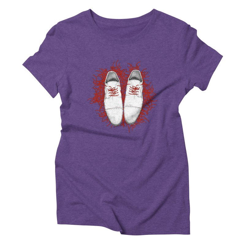 Crazy Laces Women's Triblend T-Shirt by uzu's Artist Shop