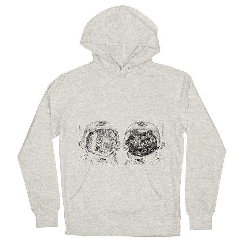 UZU Planet's cosmonauts Women's Pullover Hoody by uzu's Artist Shop