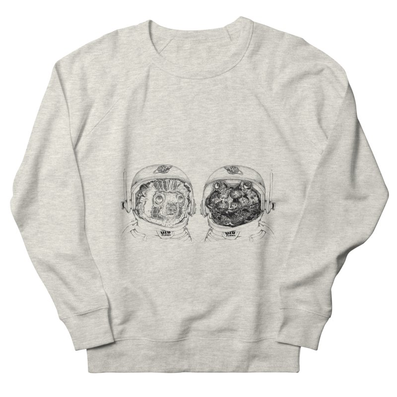 UZU Planet's cosmonauts Women's Sweatshirt by uzu's Artist Shop