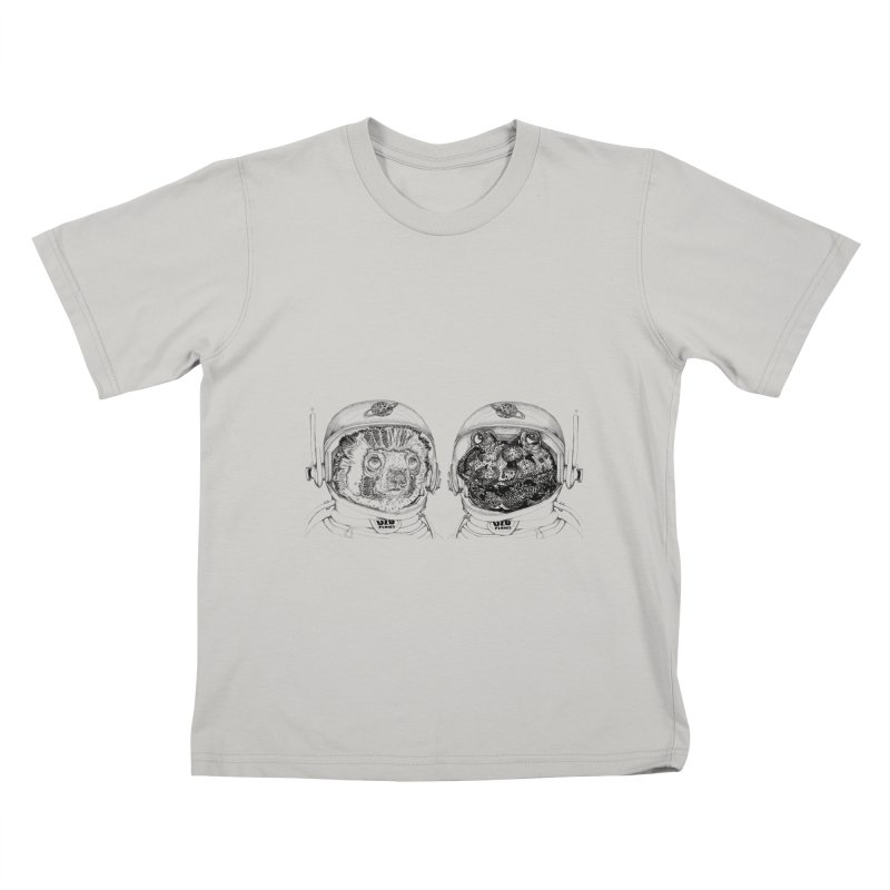 UZU Planet's cosmonauts Kids T-Shirt by uzu's Artist Shop