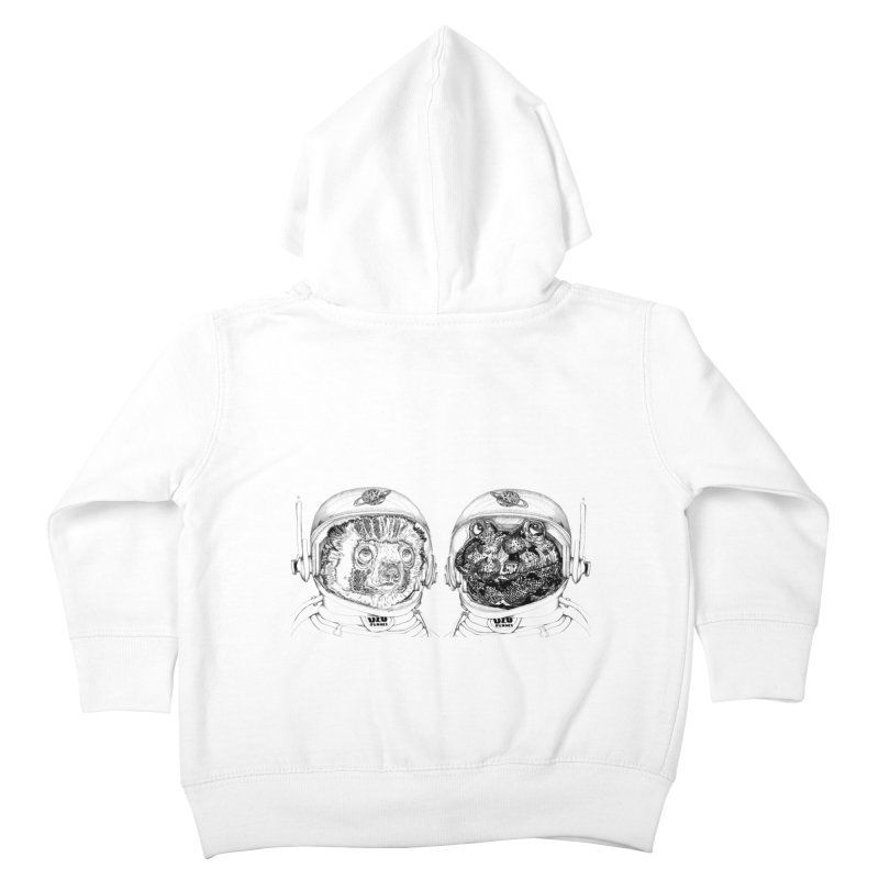UZU Planet's cosmonauts Kids Toddler Zip-Up Hoody by uzu's Artist Shop