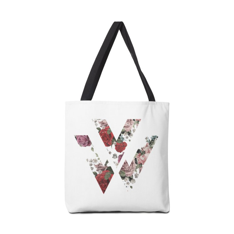 Floral Accessories Bag by VadaWave's Artist Shop