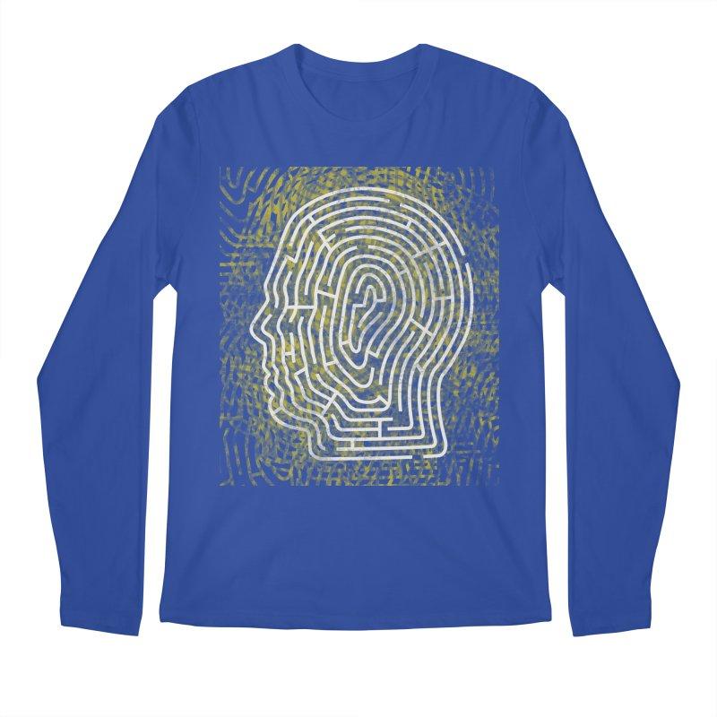 Head Maze Men's Longsleeve T-Shirt by vagenasfx's Artist Shop