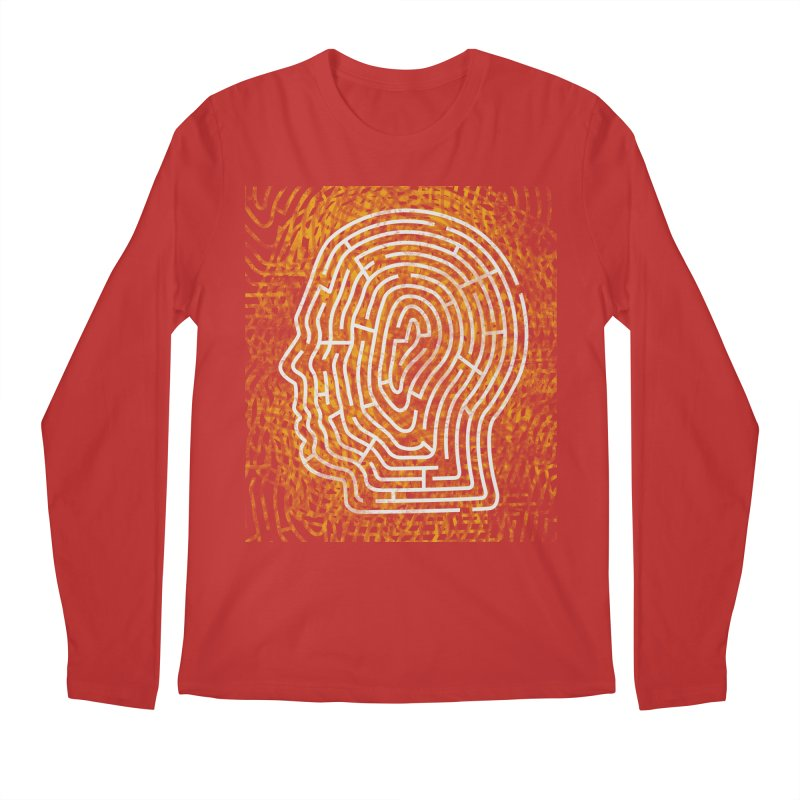 Head Maze Men's Longsleeve T-Shirt by vagenasfx's Artist Shop