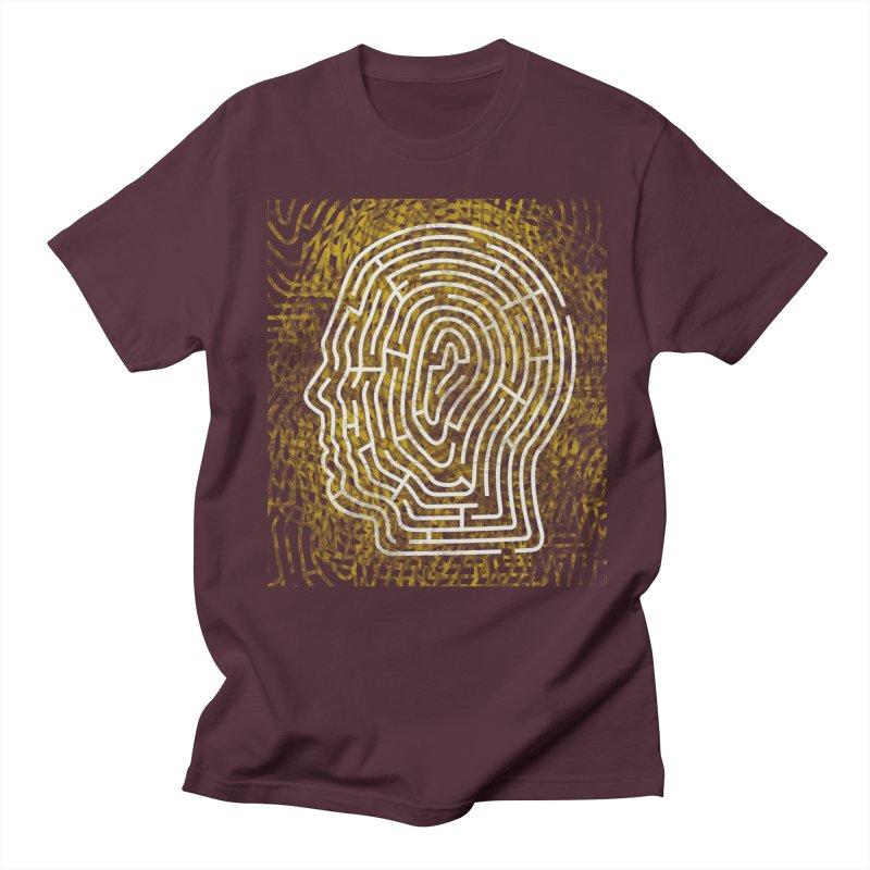 Head Maze Men's T-Shirt by vagenasfx's Artist Shop