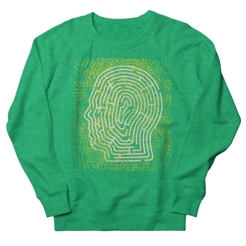 Head Maze Men's Sweatshirt by vagenasfx's Artist Shop