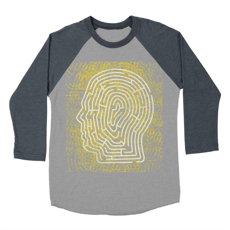 Head Maze Women's Baseball Triblend T-Shirt by vagenasfx's Artist Shop