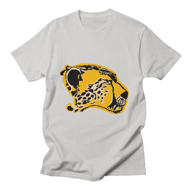 Cheetah Men's T-Shirt by Val's Artist Shop