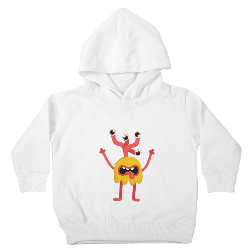 Bob (yellow) Kids Toddler Pullover Hoody by Val's Artist Shop