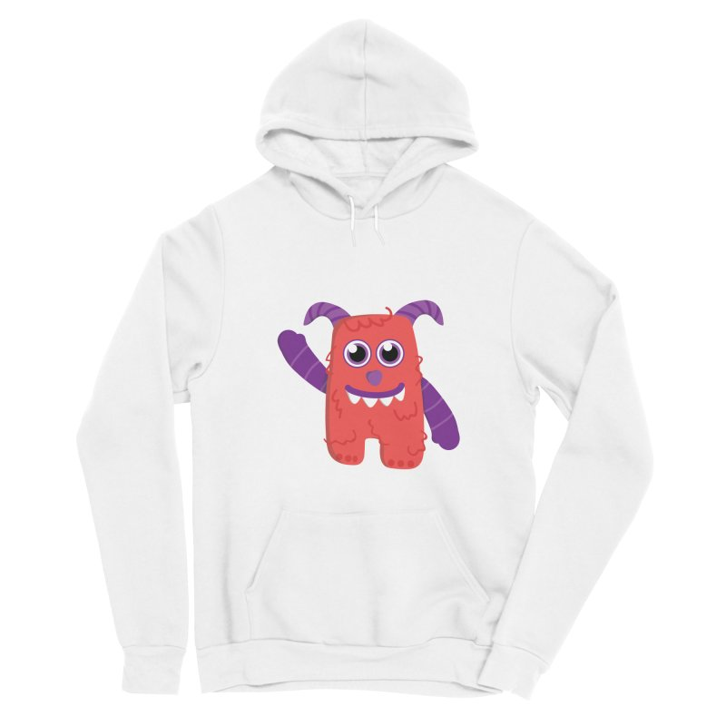 Misty (red) Women's Pullover Hoody by Val's Artist Shop