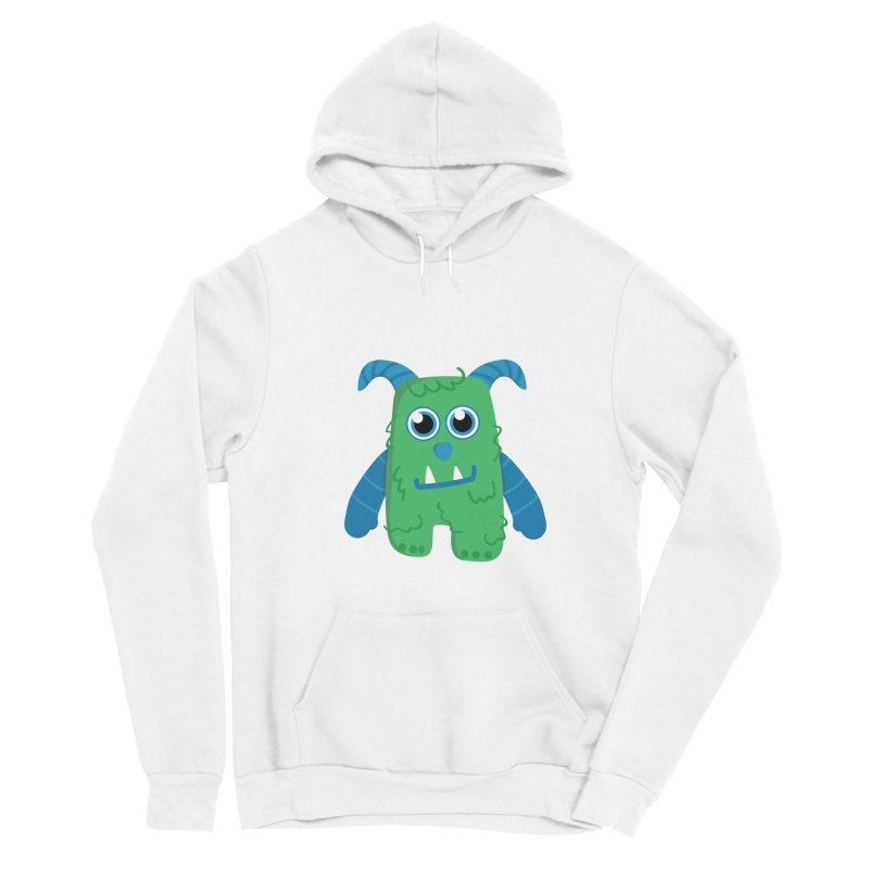 Misty (green) Women's Pullover Hoody by Val's Artist Shop