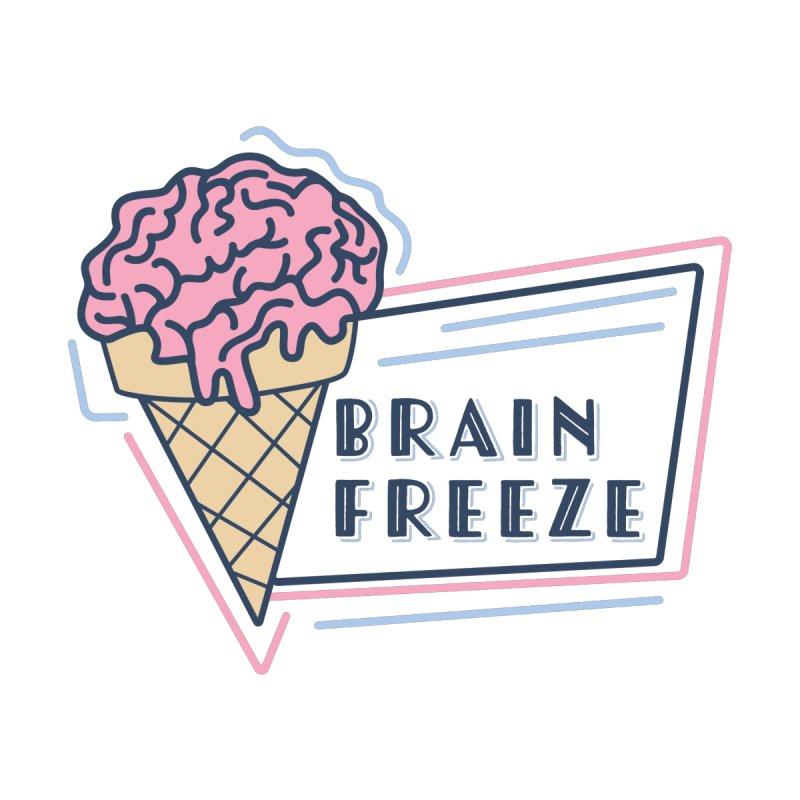 Brain Freeze (logo - style 2) Women's Sweatshirt by Val's Artist Shop