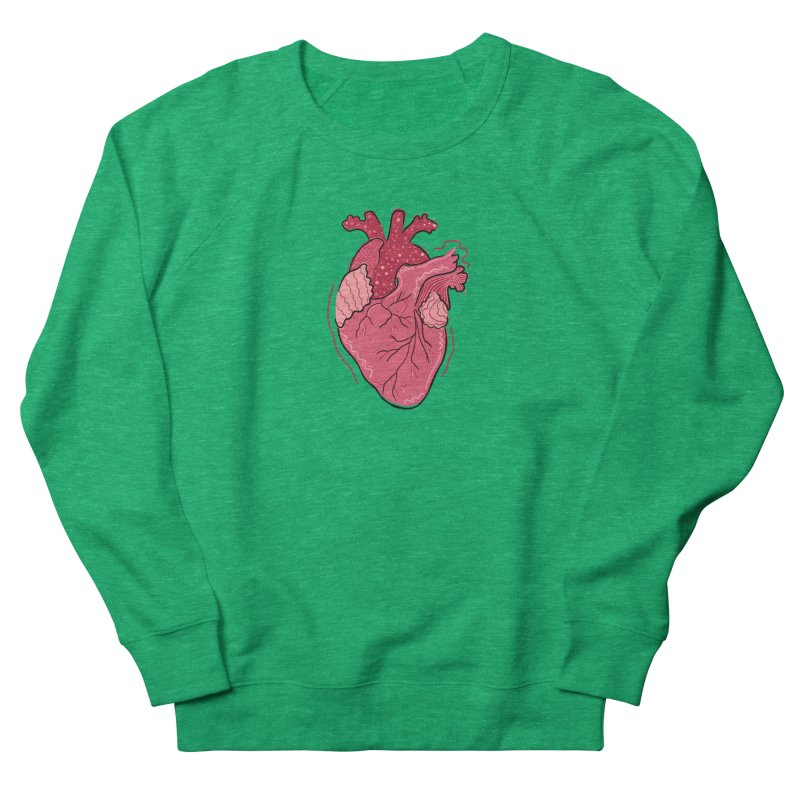 Heart Women's Sweatshirt by Val's Artist Shop