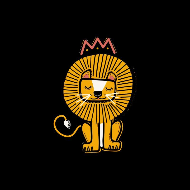 Lion Women's Sweatshirt by Val's Artist Shop