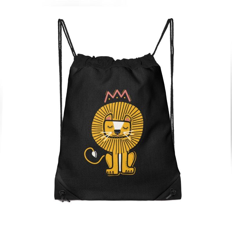 Lion Accessories Bag by Val's Artist Shop