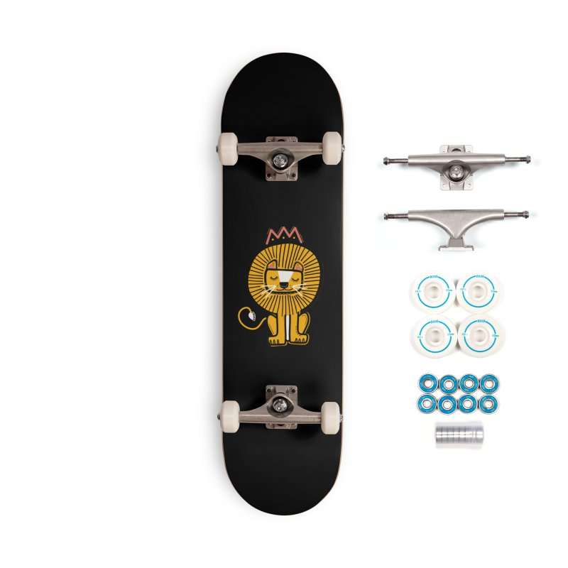 Lion Accessories Skateboard by Val's Artist Shop