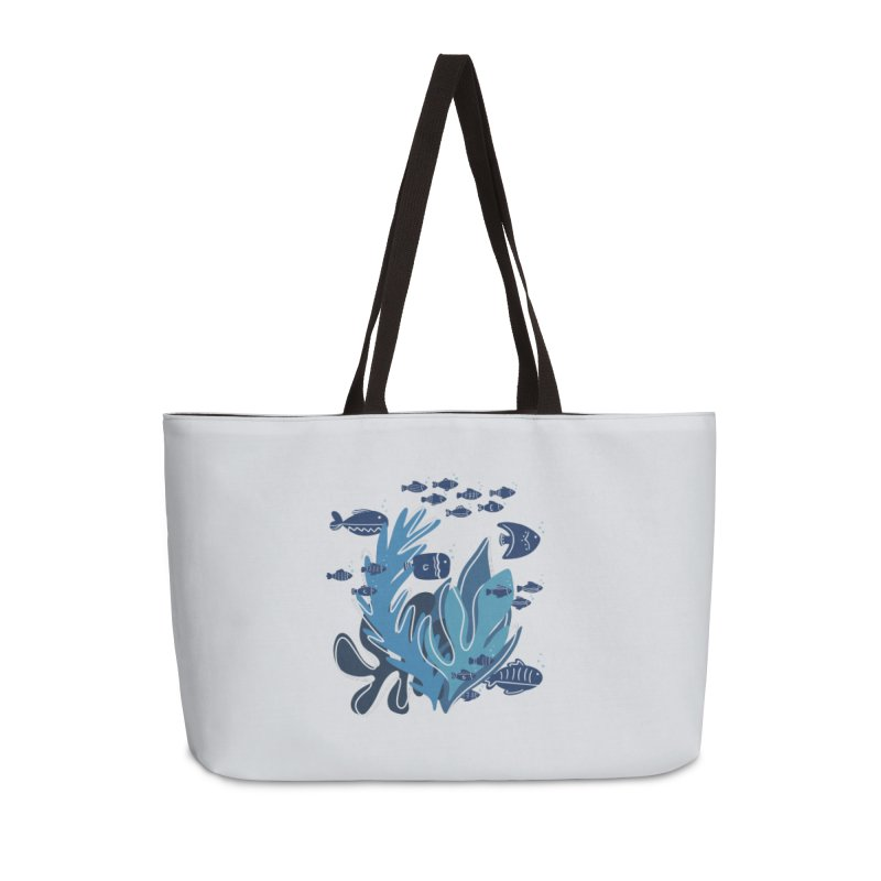 Fish Accessories Bag by Val's Artist Shop