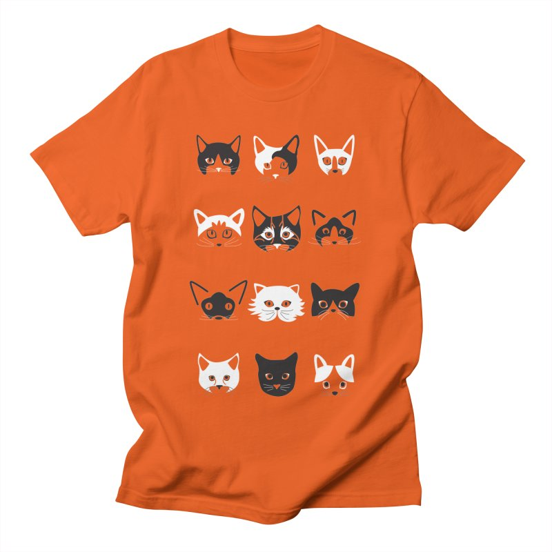 Cats (Best Friends Animal Society) Men's T-Shirt by Val's Artist Shop