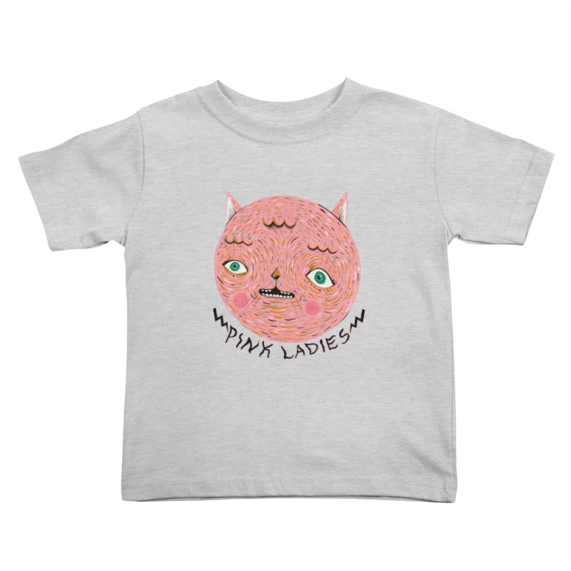 Pink ladies Kids Toddler T-Shirt by Valentina Zummo