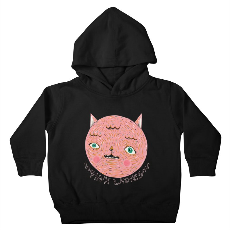 Pink ladies Kids Toddler Pullover Hoody by Valentina Zummo