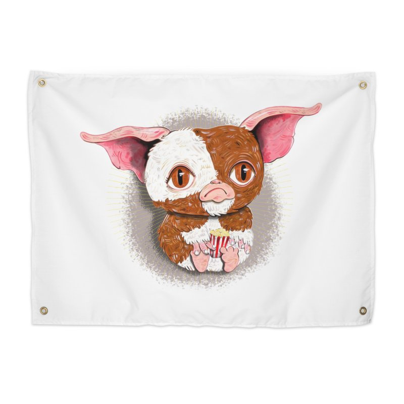 GIZMO RULES!!! Home Tapestry by Valentina Zummo